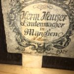 hermann hauser 1 segovia model Label