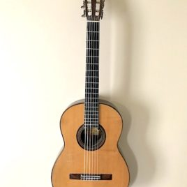Enrique Garcia 1917 early master guitars front