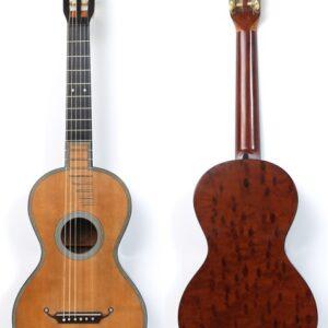 Rene Lacote 1839 guitar front back